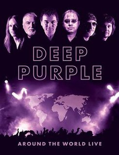 <i>Around the World Live</i> 2008 video by Deep Purple