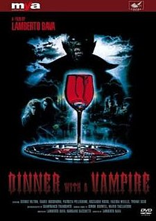 <i>Dinner with a Vampire</i> Italian 1989 horror film by Lamberto Bava