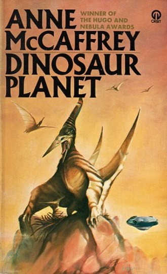 Dinosaur Planet (novel) - Sweet cover of early US editions
