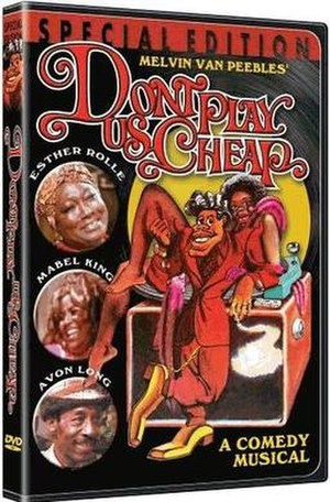 Don't Play Us Cheap - DVD cover.