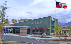 Salt Lake County Library Services - The Draper branch of Salt Lake County Library Services