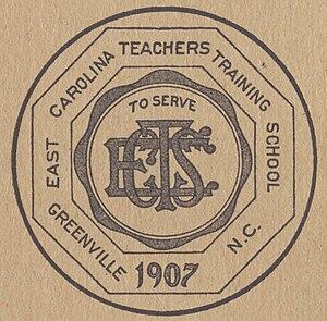 History of East Carolina University - ECTTS Logo