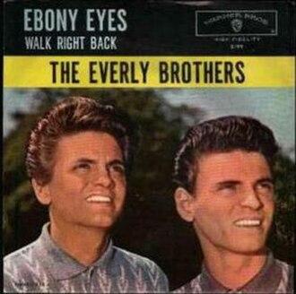 Ebony Eyes (John D. Loudermilk song) - Image: Ebony eyes Everly Brothers