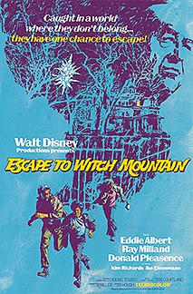 <i>Escape to Witch Mountain</i> (1975 film) 1975 film by John Hough