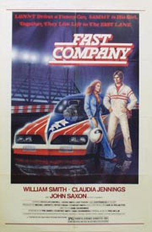 Fast Company (1979 film) - Theatrical release poster