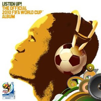 Listen Up! The Official 2010 FIFA World Cup Album - Image: Fifa Official cover