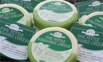 Fine Fettle Yorkshire - Image: Fine fettle Yorkshire Cheese