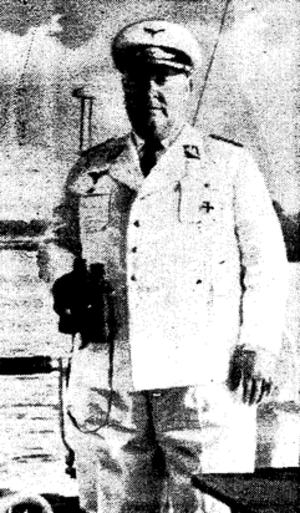 Franz Neuhausen - Franz Neuhausen in NSFK uniform