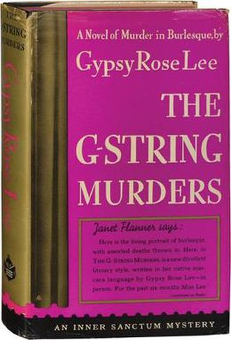 The G-String Murders - First edition