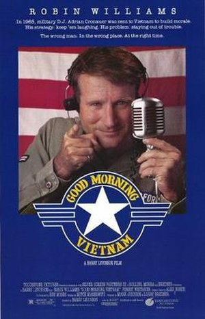 Good Morning, Vietnam - Theatrical release poster