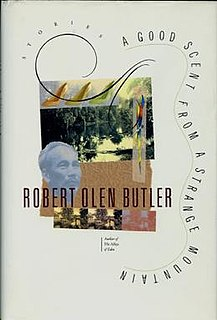<i>A Good Scent from a Strange Mountain</i> book by Robert Olen Butler