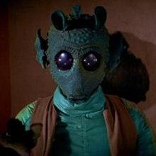 Greedo, Star Wars.