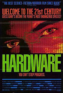<i>Hardware</i> (film) 1990 film by Richard Stanley