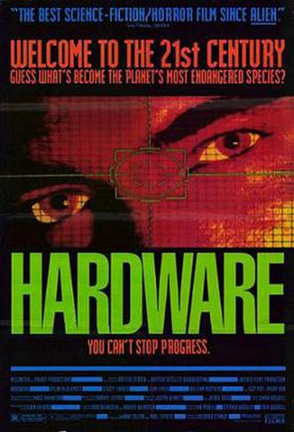 Hardware (film) - Theatrical release poster