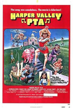 Harper Valley PTA (film) - Theatrical release poster