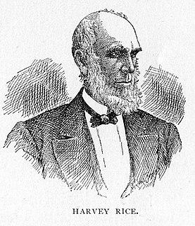 Harvey Rice American politician