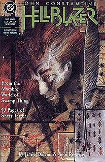 <i>Hellblazer</i> comic book published between 1988 and 2013