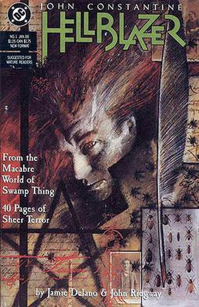 Picture of a book: Hellblazer
