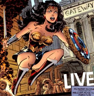 Hippolyta (DC Comics) as WW - from WW v2 i130