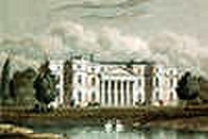 Horton, Northamptonshire - Horton Hall in 1830