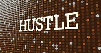 Hustle (TV series) - Title card from series 5 to series 8
