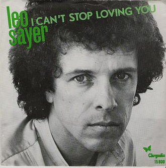 I Can't Stop Loving You (Though I Try) - Image: I cant stop loving you leo sayer