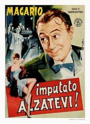 Imputato, alzatevi! - Italian theatrical release poster
