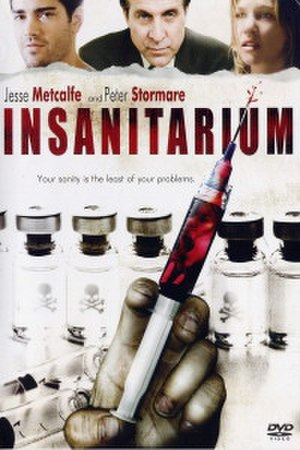 Insanitarium - DVD Cover