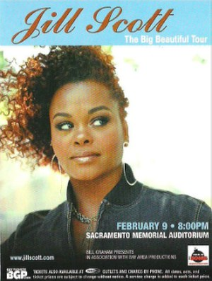 Big Beautiful Tour - Image: J Scott 2005Tour Poster