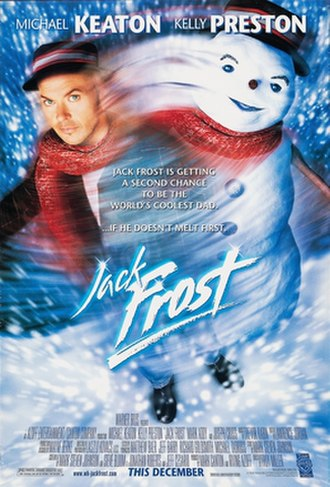 Jack Frost (1998 film) - Theatrical release poster