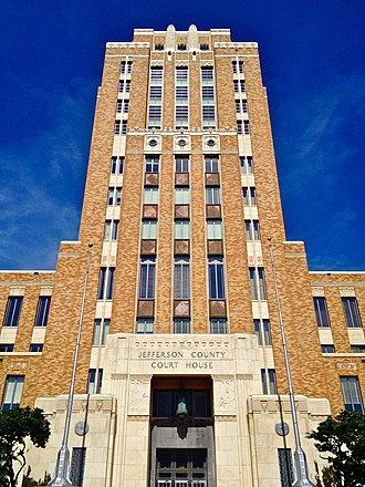 Jefferson County Courthouse (Texas) - Jefferson County Courthouse
