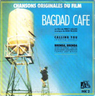 Calling You - Image: Jevetta Steele Calling You Bagdad Cafe French 7Inch Single Cover