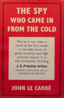<i>The Spy Who Came In from the Cold</i> 1963 novel by John le Carré