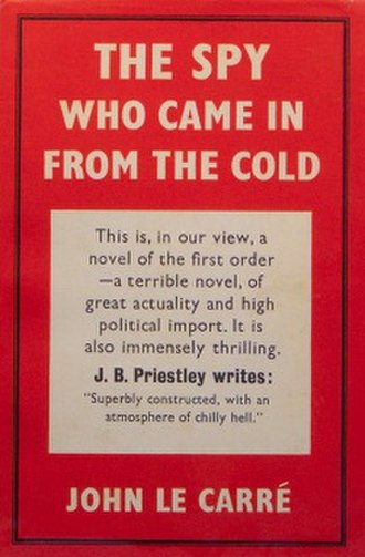 The Spy Who Came in from the Cold - Cover for the Victor Gollancz first edition