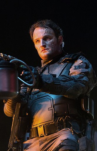 John Connor - Jason Clarke as John Connor in Terminator Genisys.