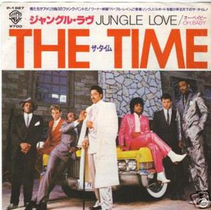 Jungle Love (The Time song) - Image: Jungle Love Jap