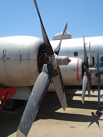 March Field Air Museum - Image: KC 97 engines