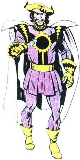 Kanto (comics) - Image: Kanto (DC Comics)