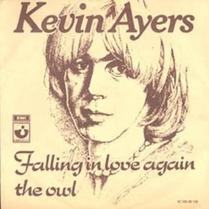 Falling in Love Again (Can't Help It) - Image: Kevin Ayers Falling In Love Again Dutch single