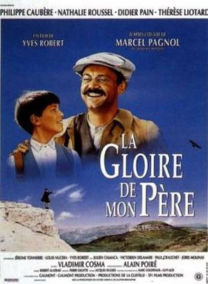 My Father's Glory (film) - French poster for the film