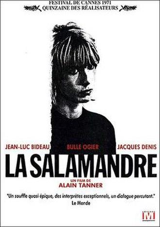 The Salamander (1971 film) - Film poster