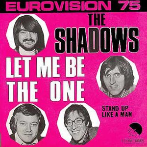 Let Me Be the One (The Shadows song) - Image: Let me be the one (The Shadows)