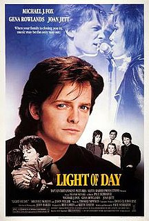 <i>Light of Day</i> 1987 film by Paul Schrader