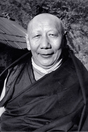 Ling Rinpoche - Kyabje Ling Rinpoche- scholar and teacher. The 97th Ganden Tripa and senior tutor to the 14th Dalai Lama