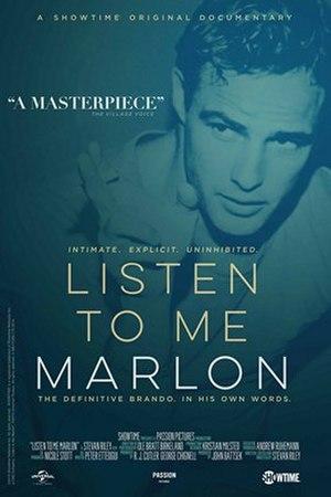 Listen to Me Marlon - Image: Listen to Me Marlon poster