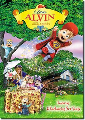 Little Alvin and the Mini-Munks - DVD Cover