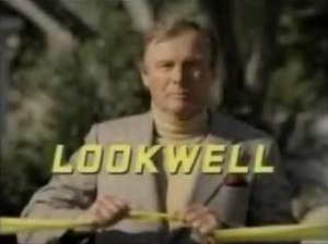 Lookwell - Title screen featuring Adam West