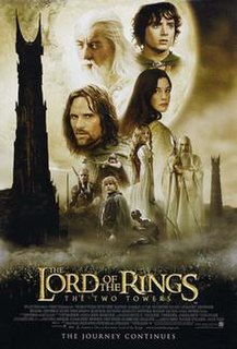 <i>The Lord of the Rings: The Two Towers</i> 2002 fantasy film directed by Peter Jackson