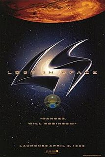 <i>Lost in Space</i> (film) 1998 science fiction film by Stephen Hopkins
