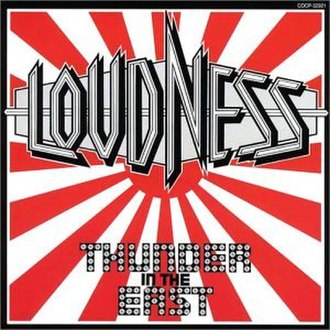Thunder in the East (album) - Image: Loudness thunder japan